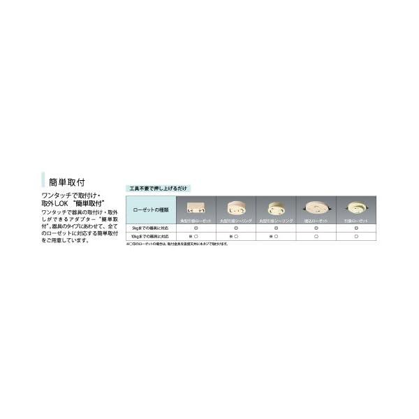 NEC LEDシーリングライト LIFELED...の紹介画像9
