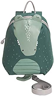 【ベビーアムール】Bebamour 迷子防止リュック リード付き ハーネスリュック セーフティ 歩行補助 迷子対策 安全安心 子ども用リュックサック お出かけベビー用品(グリーン)