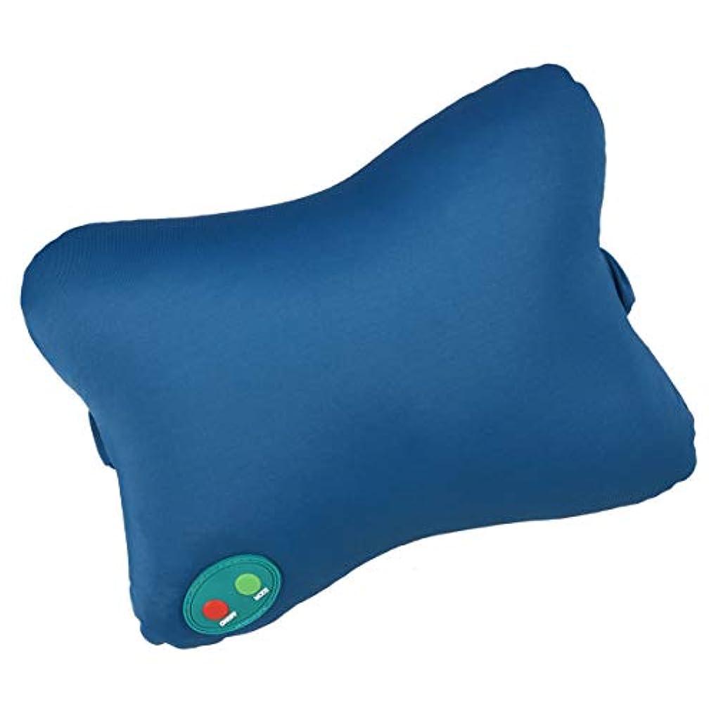 インタフェース無視できるメンバーSUPVOX マッサージ枕ポータブルマッサージャー首背中肩腕脚軽量ホームオフィスカー