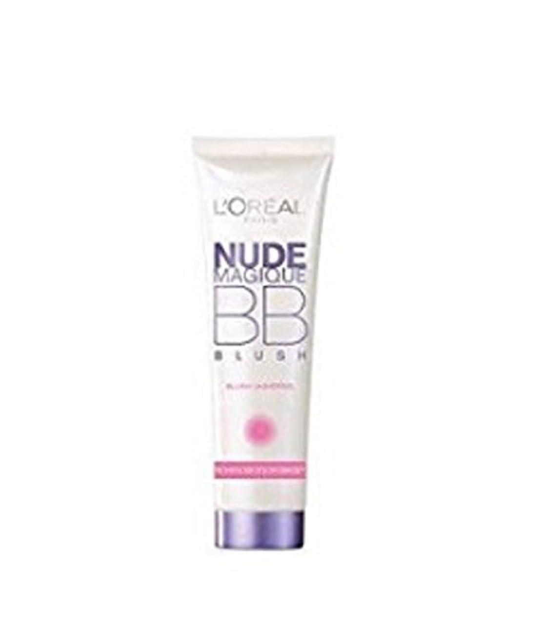 リテラシー一晩帰るL 'Oreal Magische Blush creme BB Nude 15 ml, 2 Stück