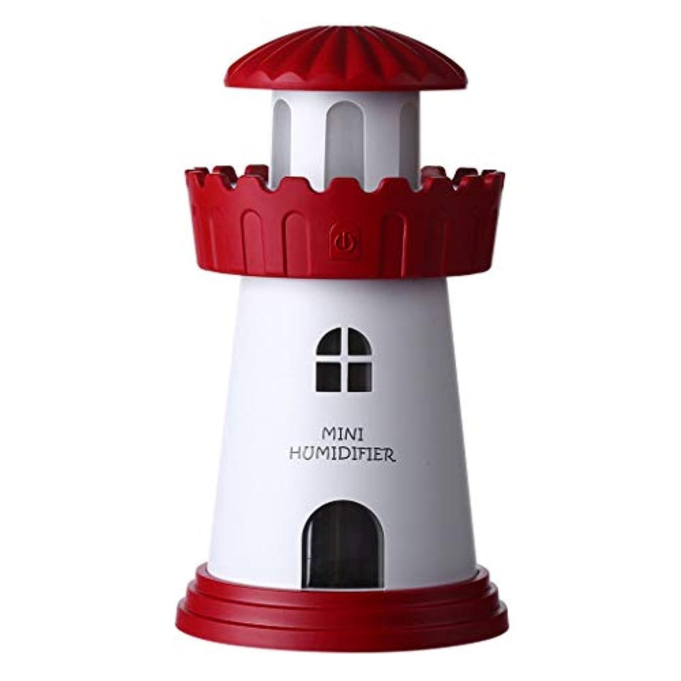 キウイホテル公平な加湿器、超音波加湿器、USBサイレント寝室香ランププラグイン電気 (色 : A)