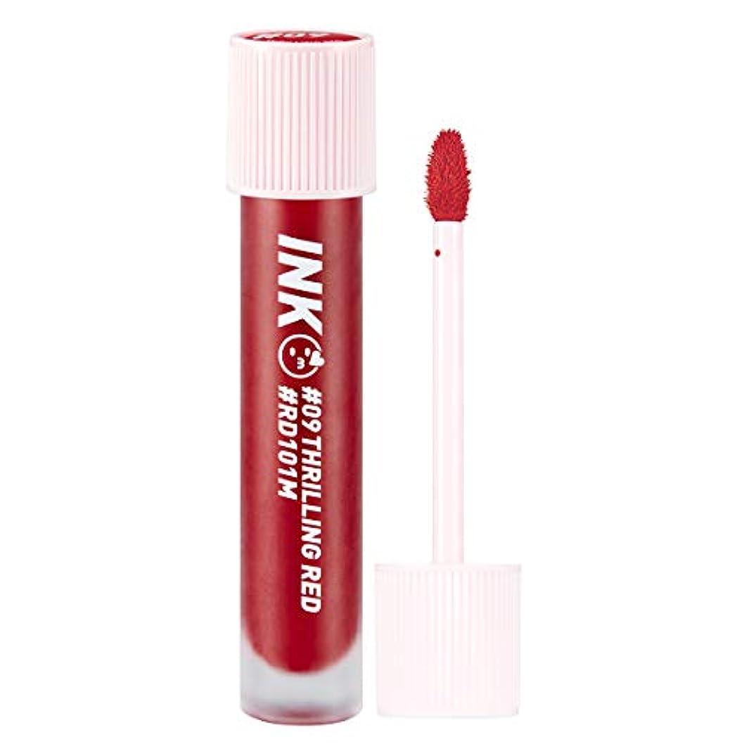 検索エンジン最適化ベルベットマイルドペリペラ インク マット ブラー ティント 3.8g / PERI PERA Ink Matte Blur Tint (#09. Thrilling Red) [並行輸入品]