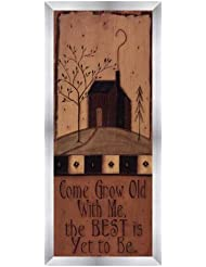 Come Grow Old With Me by Kim Klassen – 8 x 20インチ – アートプリントポスター LE_468234-F9935-8x20