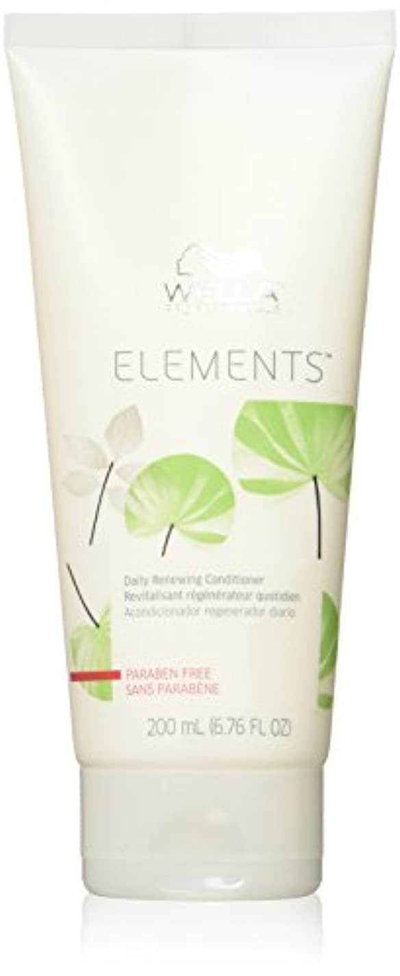 導体湿気の多い従者Wella Elements Conditioner, 6.7 Ounce