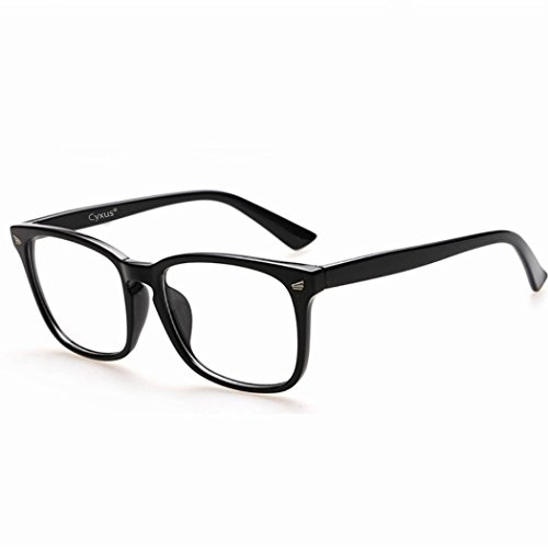 Cyxus 青色光 カットめメガネ [透明レンズ ] 軽量型 男女兼用