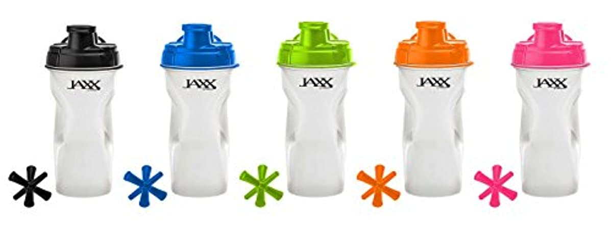 びんその間建築海外直送品Jaxx Shaker Assorted Colors, 28 oz by Fit & Fresh
