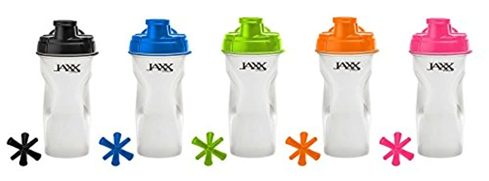 はげ仕事色合い海外直送品Jaxx Shaker Assorted Colors, 28 oz by Fit & Fresh