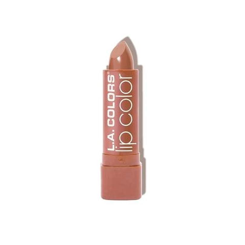 匹敵します追記差別するL.A. COLORS Moisture Rich Lip Color - In The Buff (並行輸入品)