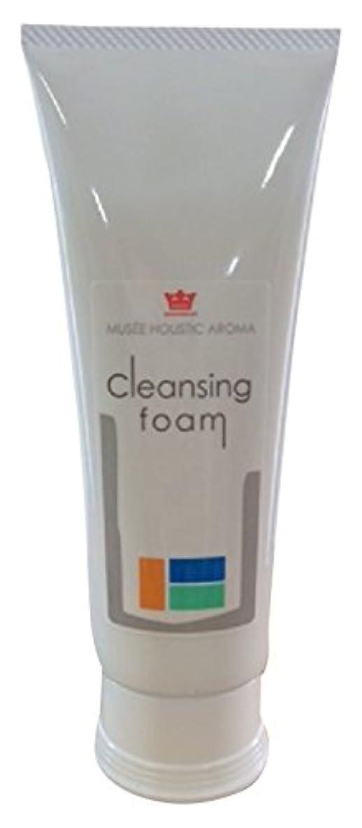 床を掃除する木材運命ミュゼ 洗顔フォーム 120g