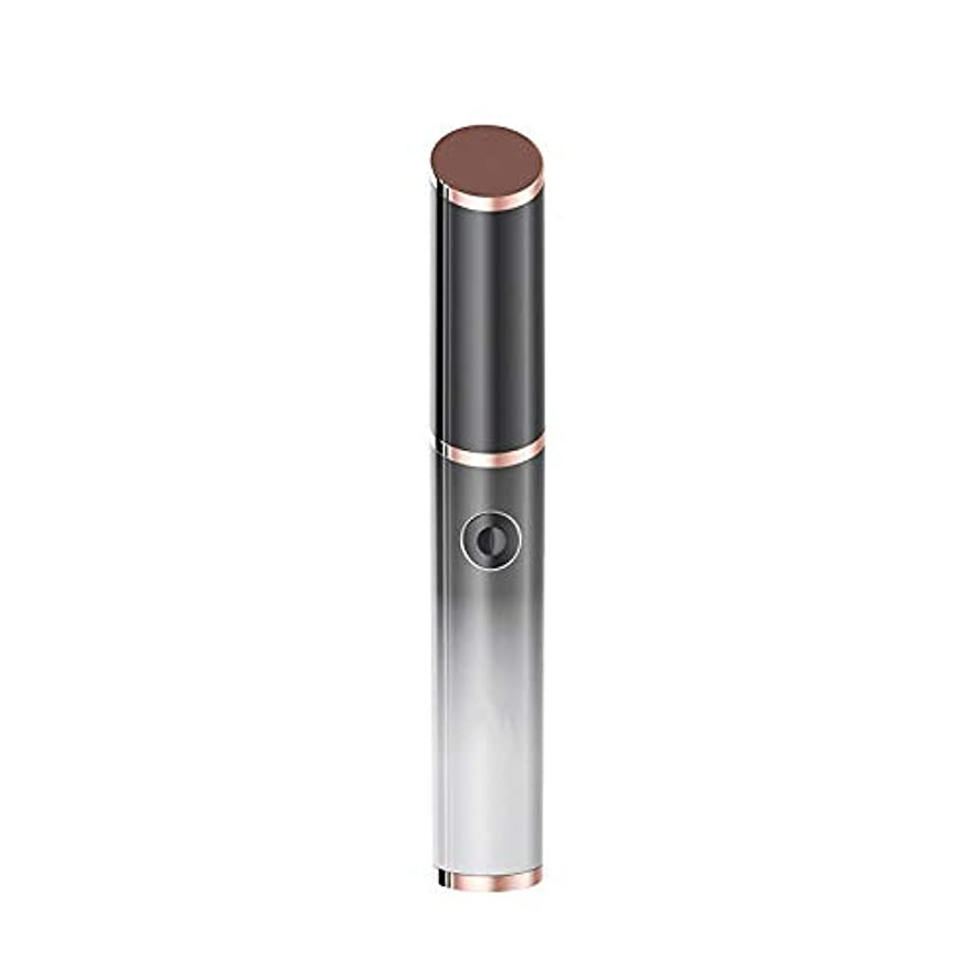 ソケット宙返り尊厳女性の電動眉毛シェーピングナイフ、多機能脱毛装置、絶妙な小さなトリマー、あらゆる肌タイプに適しています