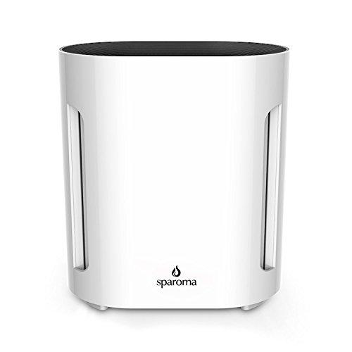 Sparoma 空気清浄機 殺菌空気清浄機 静音 風量切替 切りタイマー付き 微粒子99.9%除去 省電力 CF-8005