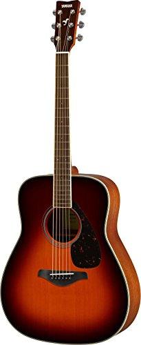 ヤマハ アコースティックギター FG SERIES ブラウンサンバースト FG820BS