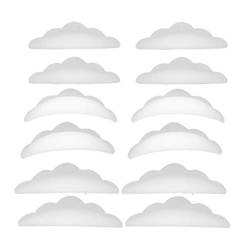 生きる織る想像するまつげパーマ シリコンパッド まつげパッド メイクアップアーティスト アクセサリー 約12本入り