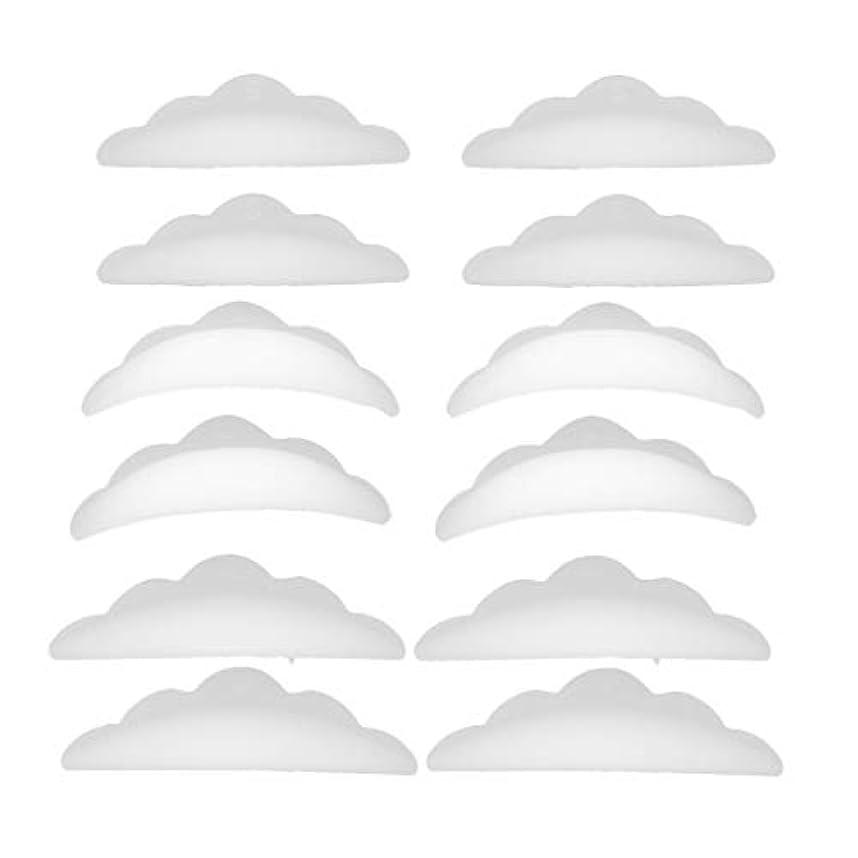大破レタッチ役に立つまつげパーマ シリコンパッド まつげパッド メイクアップアーティスト アクセサリー 約12本入り