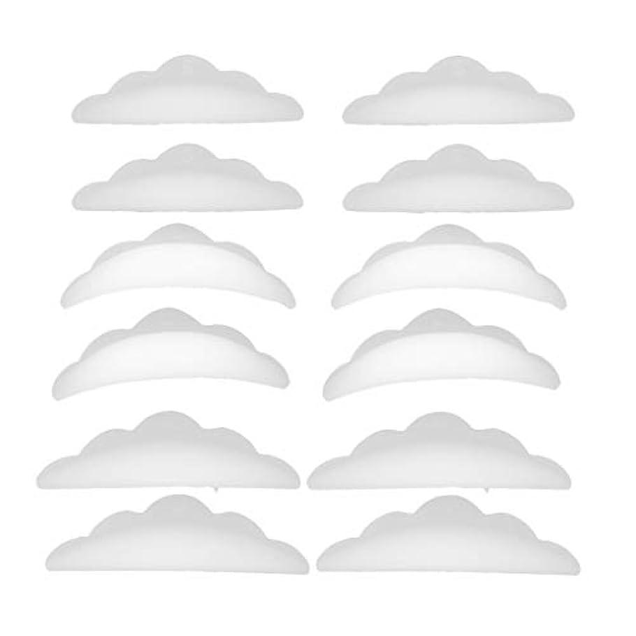 タイマー人形アウターまつげパーマ シリコンパッド まつげパッド メイクアップアーティスト アクセサリー 約12本入り
