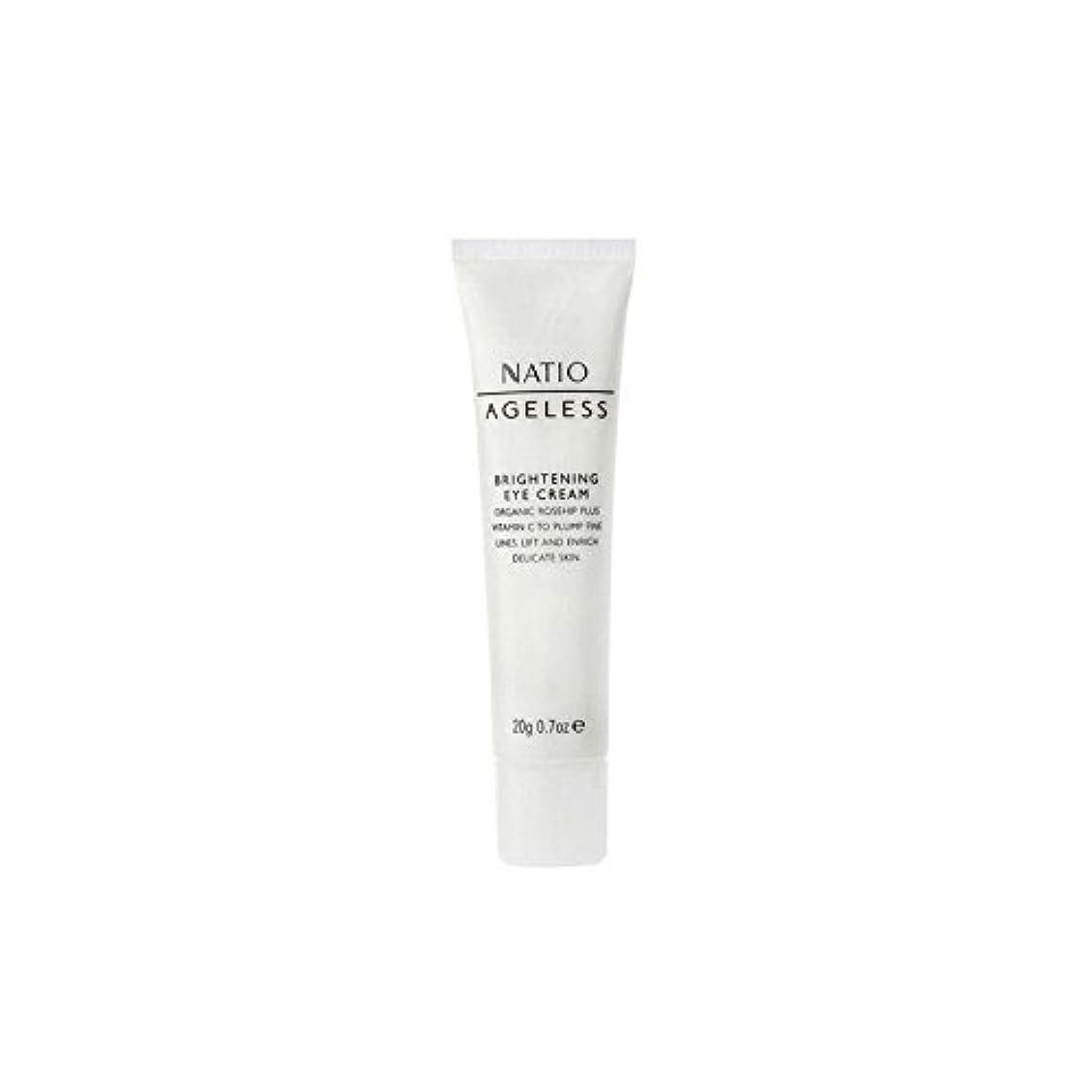 変なベル鎖Natio Ageless Brightening Eye Cream (20G) (Pack of 6) - 永遠の白アイクリーム(20グラム) x6 [並行輸入品]