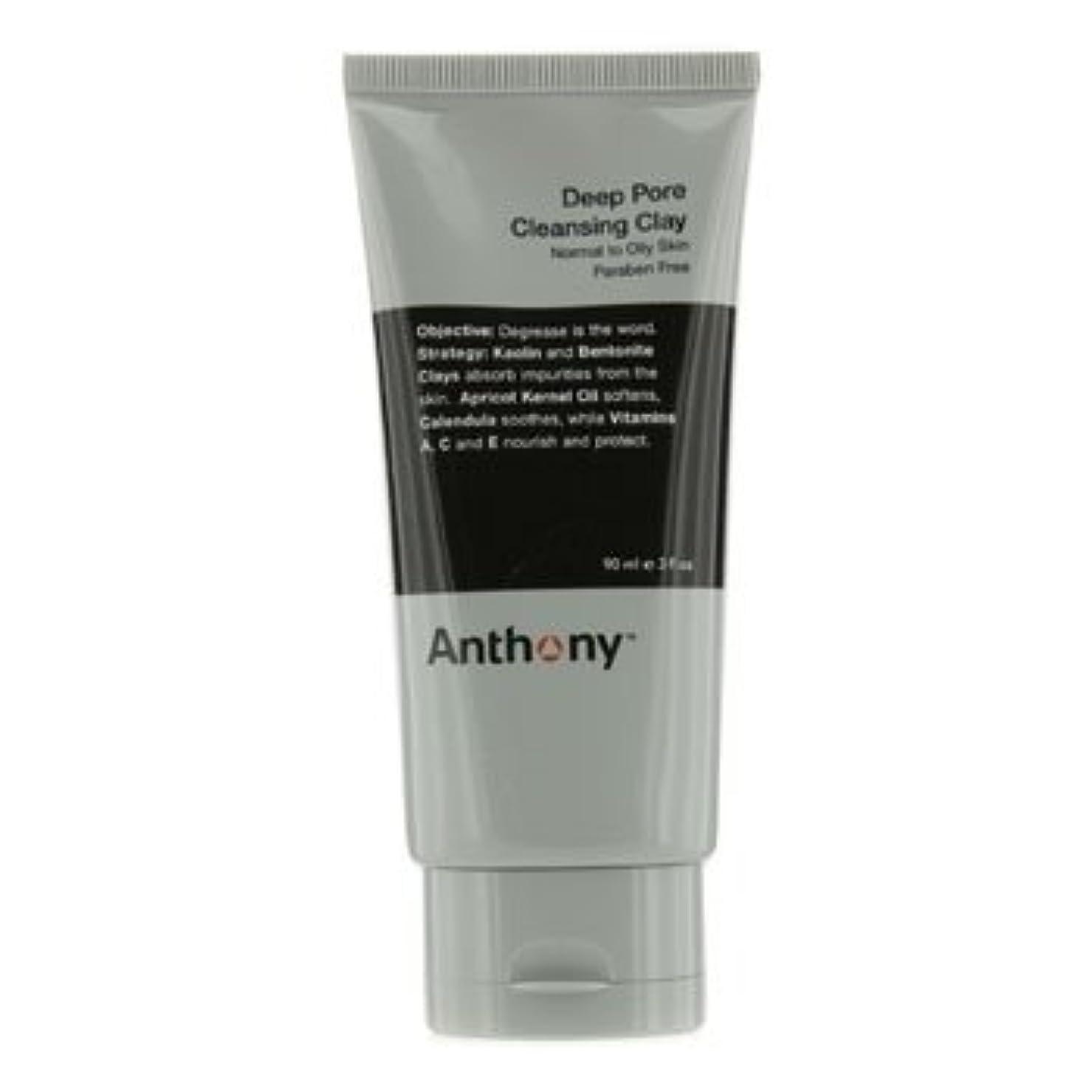 やめる花婿ディスコアンソニー Logistics For Men Deep Pore クレンジング Clay (Normal To Oily Skin) 90g [並行輸入品][海外直送品]