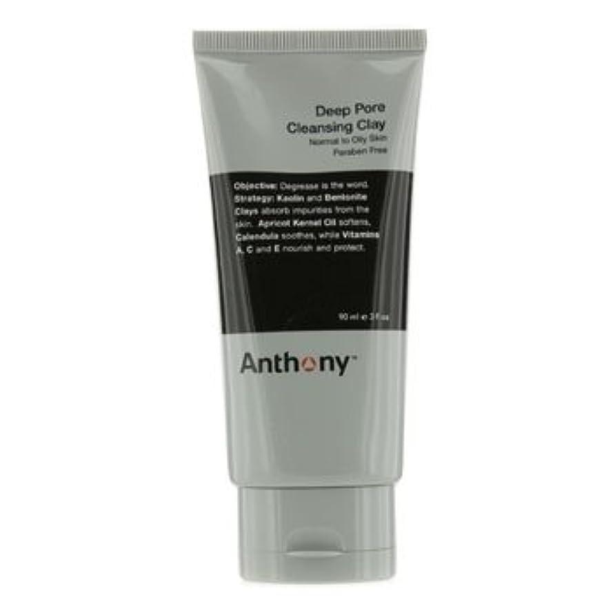 に付ける歯ダメージアンソニー Logistics For Men Deep Pore クレンジング Clay (Normal To Oily Skin) 90g [並行輸入品][海外直送品]