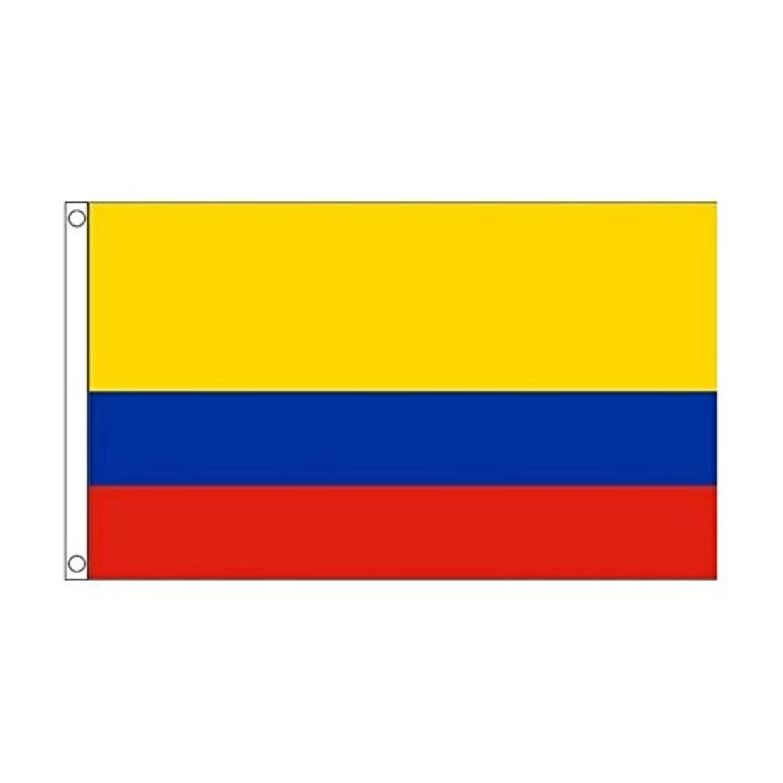 国旗 コロンビア 共和国 90cmx150cm 特大フラッグ【ノーブランド品】