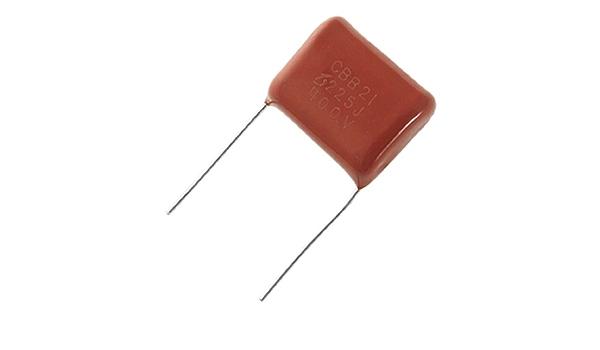 Mkp11-8.2u//400 Condensateur polypropylène 8,2uf 400vdc ± 2/% ø30x65mm mkp11g582g-c