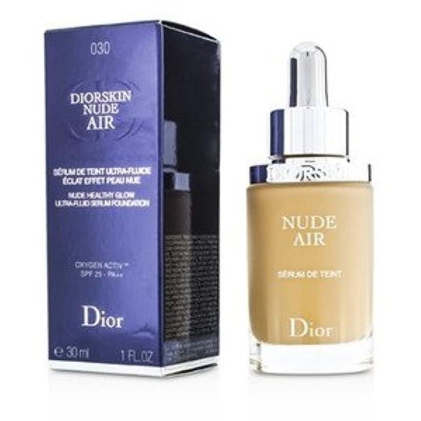 相手ナース昼寝Dior(ディオール) ディオールスキン ヌード エアー セラム ファンデーション SPF25 #030 Medium Beige 30ml/1oz [並行輸入品]