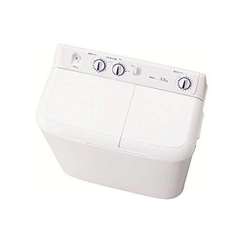 ハイアール 5.5kg 2槽式洗濯機 ホワイトHaier JW-W55E-W
