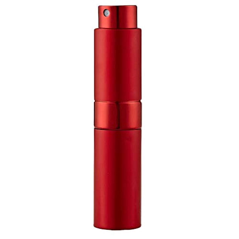 衝突鼓舞する打ち負かすLadygogo 香水アトマイザーセット 回転プッシュ式 スプレー ボトル 香水スプレー 詰め替え 持ち運び 身だしなみ 携帯用 男女兼用 (レッド)