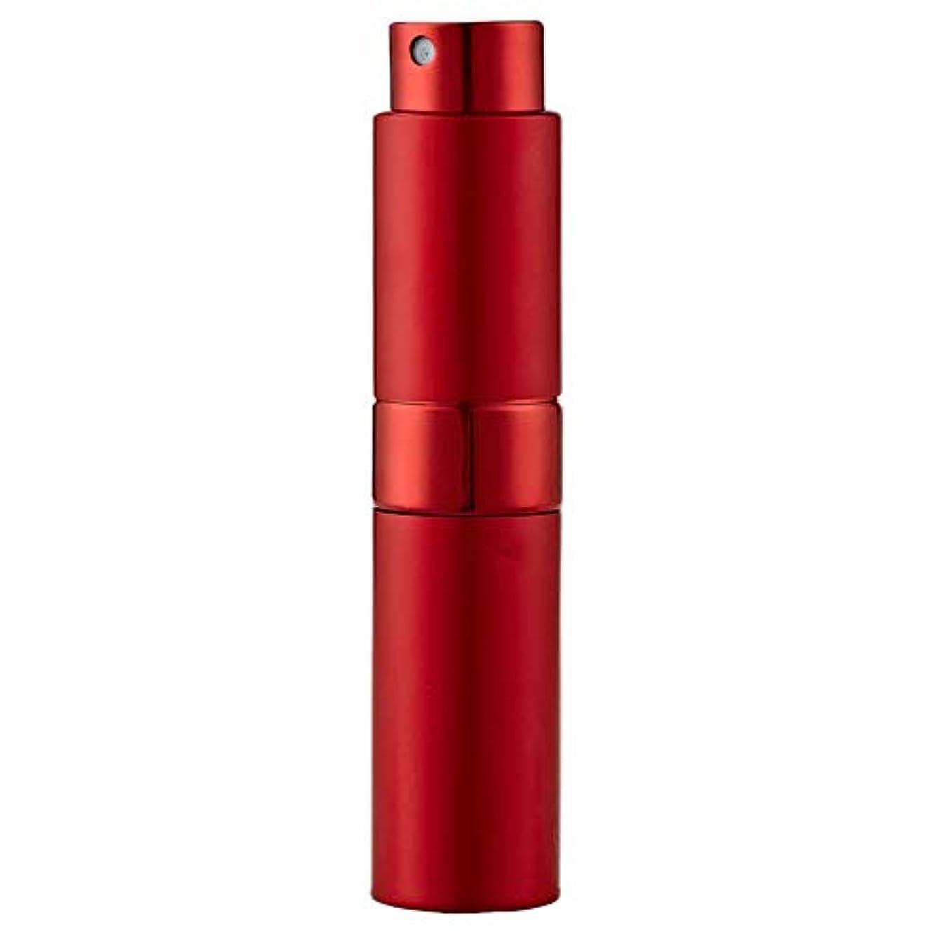 応じる除去知人Ladygogo 香水アトマイザーセット 回転プッシュ式 スプレー ボトル 香水スプレー 詰め替え 持ち運び 身だしなみ 携帯用 男女兼用 (レッド)