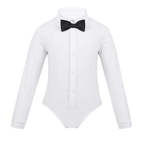 562e7e1bbd8df (フィーショー) FEESHOW 男の子 子供用 ラテン ダンス用 シャツ パンツトップス服 社交