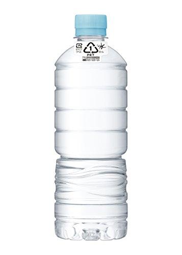 [Amazon.co.jp先行販売]アサヒ飲料 おいしい水 天然水 ラベルレスボトル PET600ml×24本