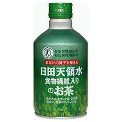 『日田天領水日田天領水 食物繊維入りのお茶300gボトル缶×24本入×(2ケース)』のトップ画像