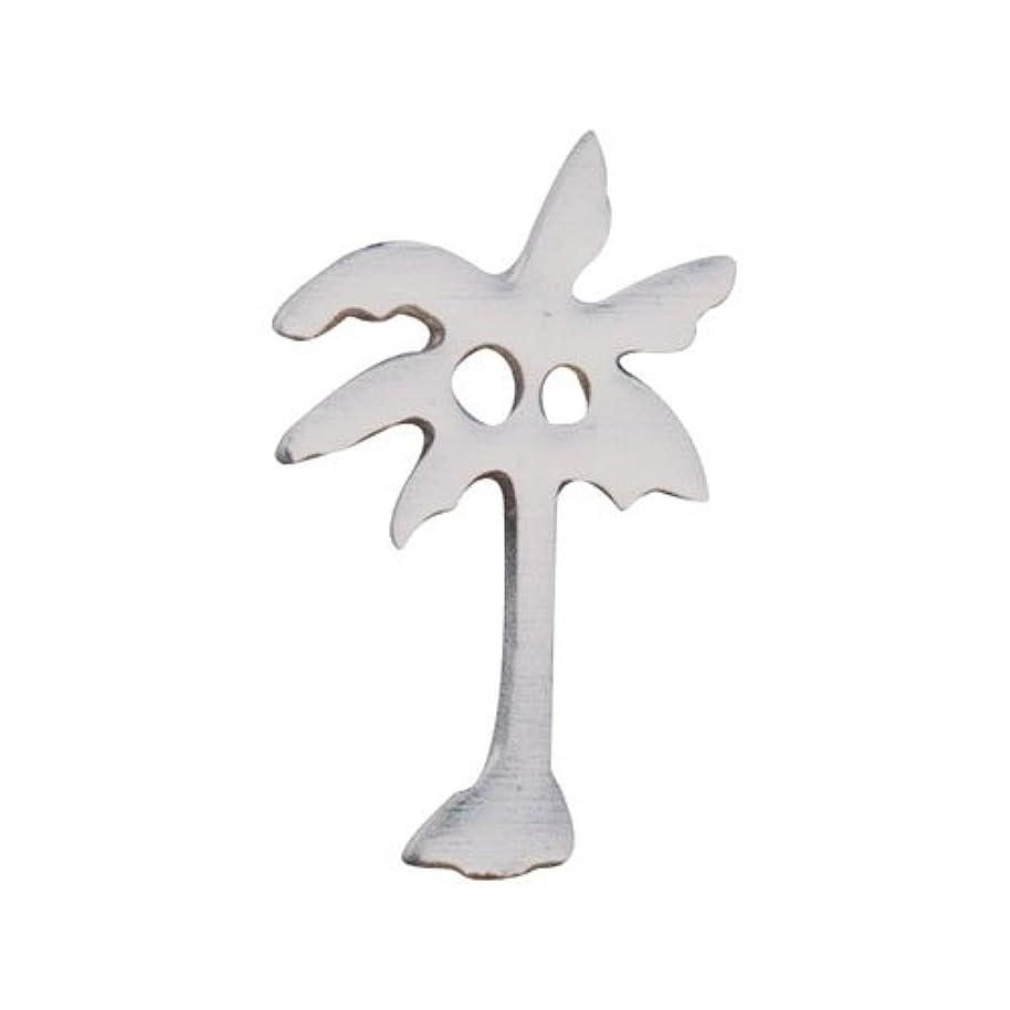 ヒットスロベニアレモンリトルプリティー ネイルアートパーツ ヤシの木 S シルバー 10個