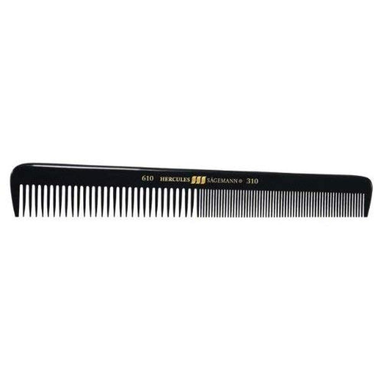 オレンジ海洋のパターンHercules S?gemann Gents Comb for short hair   Ebonite - Made in Germany [並行輸入品]