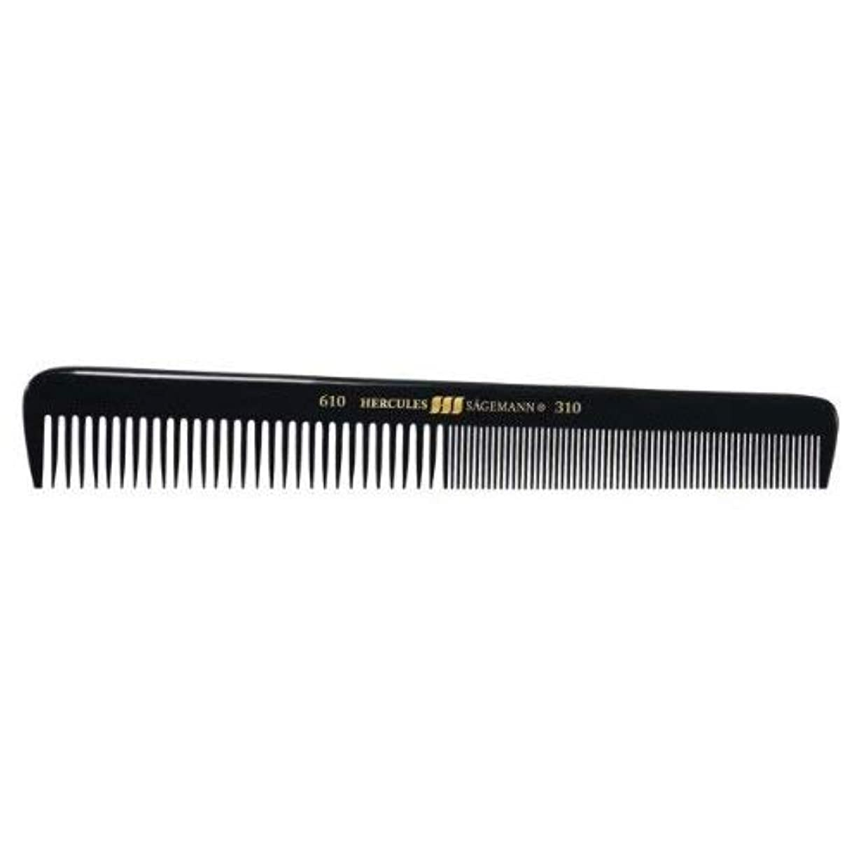 彼の錫トランスミッションHercules S?gemann Gents Comb for short hair | Ebonite - Made in Germany [並行輸入品]