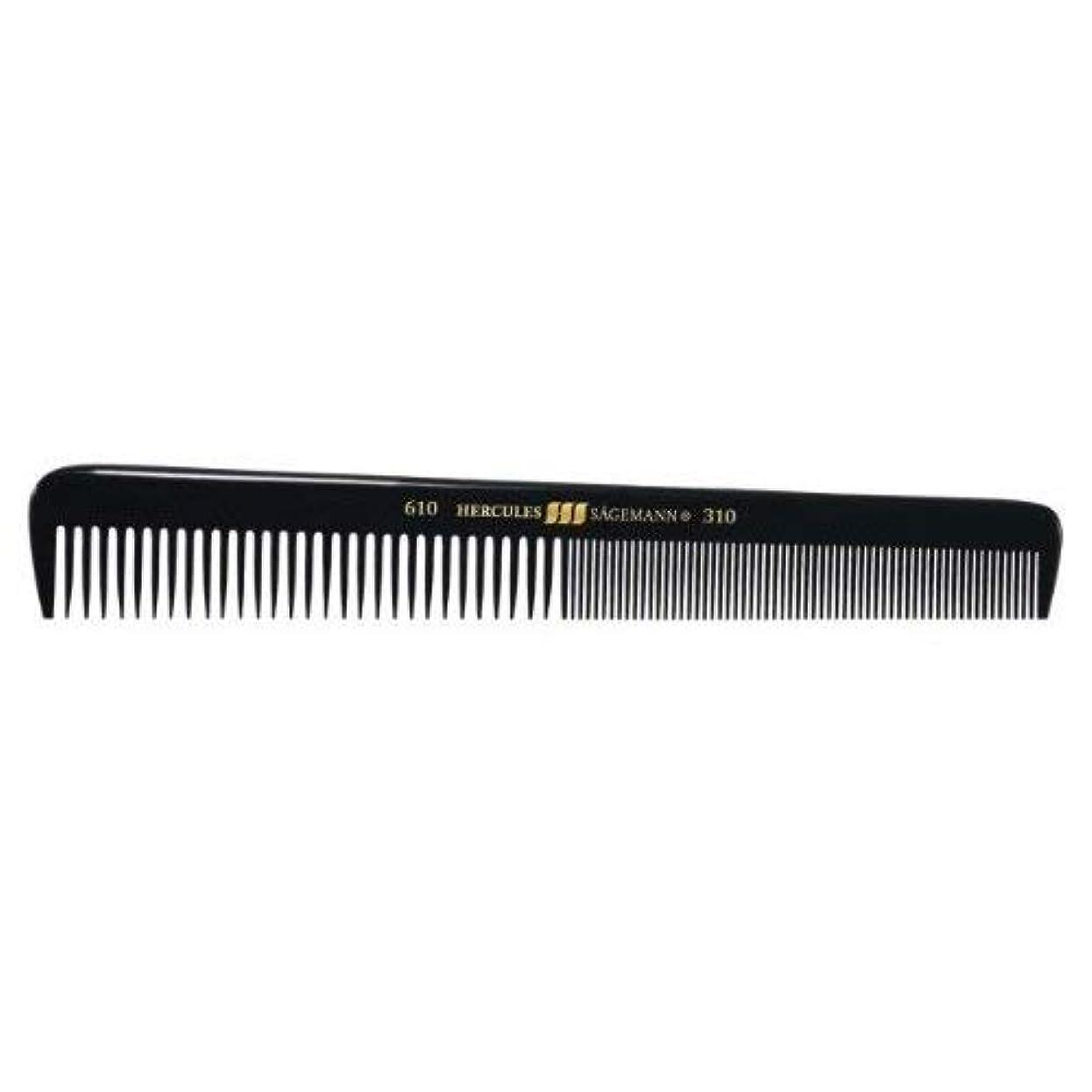 によると乱闘実際Hercules S?gemann Gents Comb for short hair | Ebonite - Made in Germany [並行輸入品]