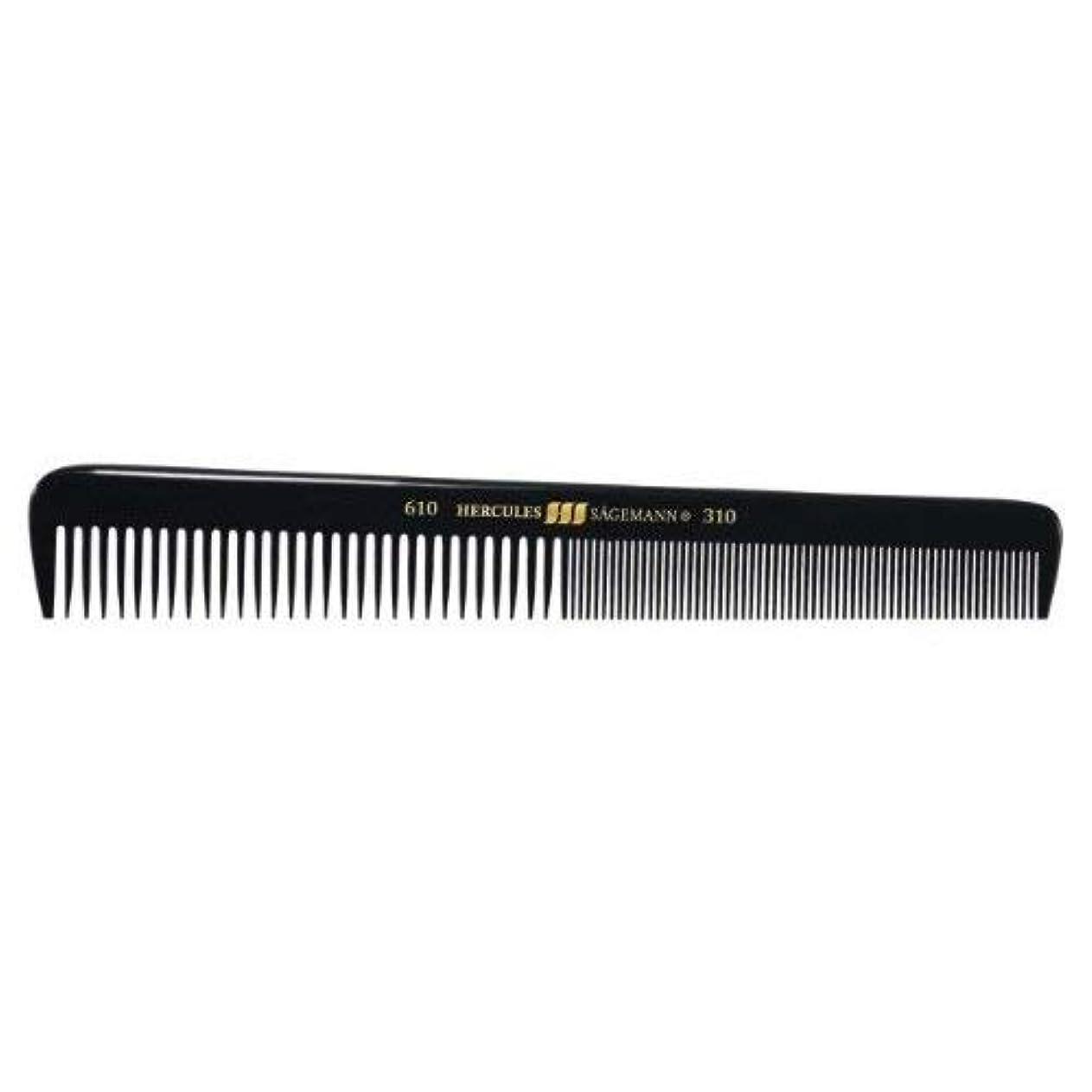 土曜日すなわちマークHercules S?gemann Gents Comb for short hair | Ebonite - Made in Germany [並行輸入品]