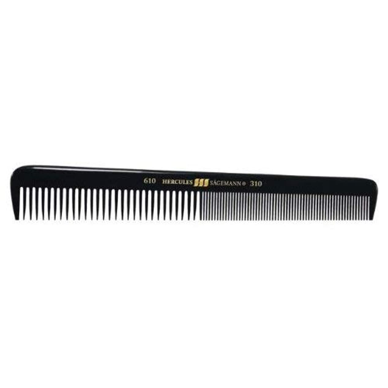 Hercules S?gemann Gents Comb for short hair | Ebonite - Made in Germany [並行輸入品]