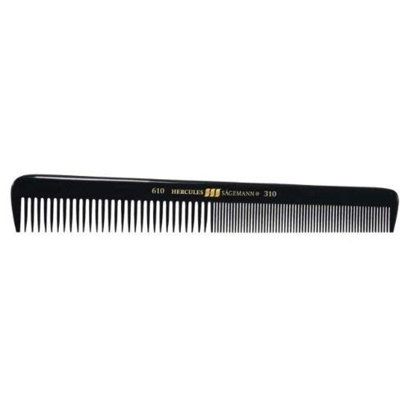 エキサイティング見える額Hercules S?gemann Gents Comb for short hair | Ebonite - Made in Germany [並行輸入品]