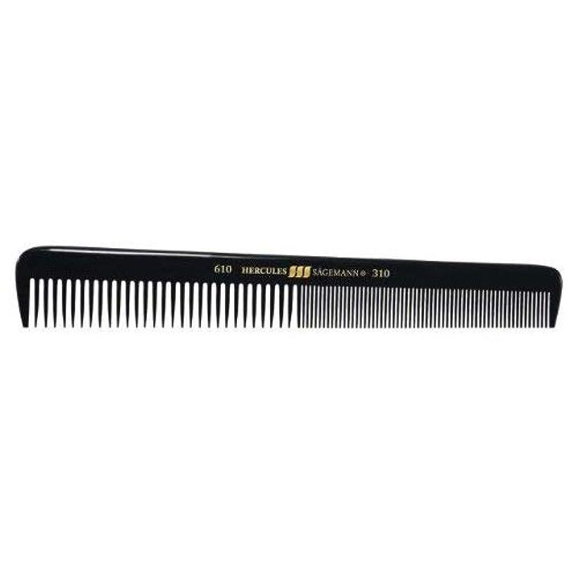 Hercules S?gemann Gents Comb for short hair | Ebonite - Made in Germany [並行輸入品]