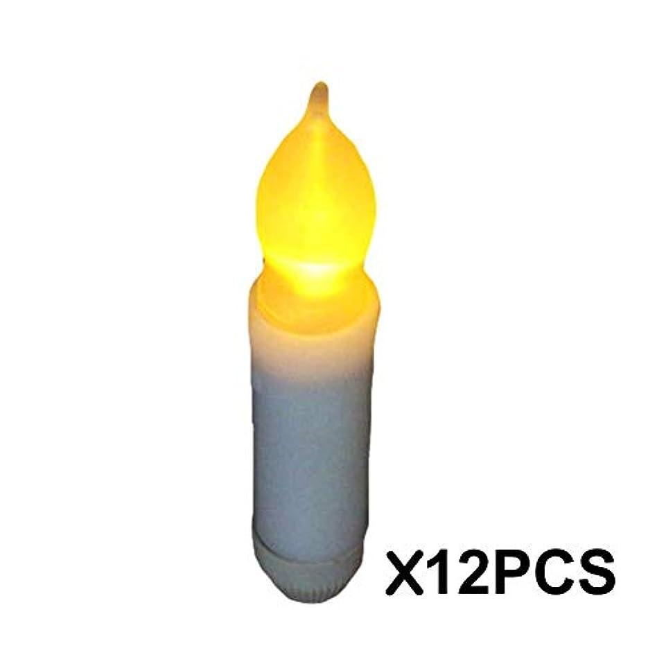 表示密接に食器棚LED キャンドルライト LEDキャンドル ろうそく癒しの灯り 揺らぐ炎 リアル感 クリスマス/パーティー/結婚式/部屋 装飾用 雰囲気作り 省エネ 安全 インテリアライト 火を使わない 長持ち 便利 おしゃれ 12個セット EQ871