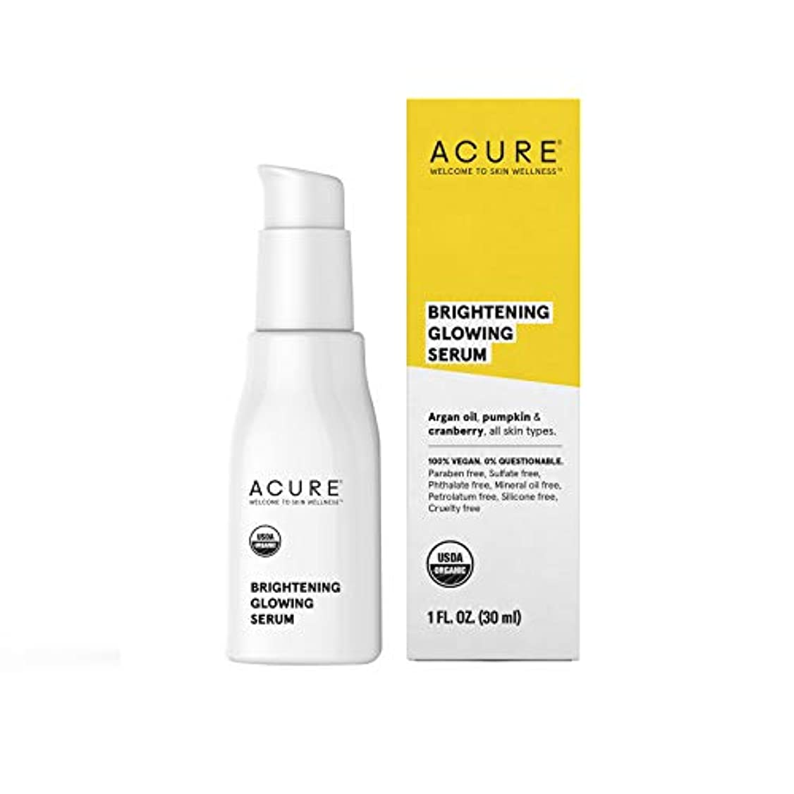 意味のある参加する薬局Acure Organics オーガニック フェイシャルセラム(30ml)[海外直送品][並行輸入品]