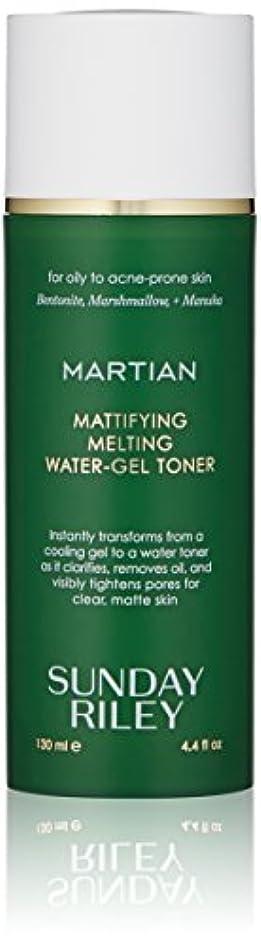 粘液具体的にセクションSUNDAY RILEY Martian Mattifying Melting Water-Gel Toner 130ml