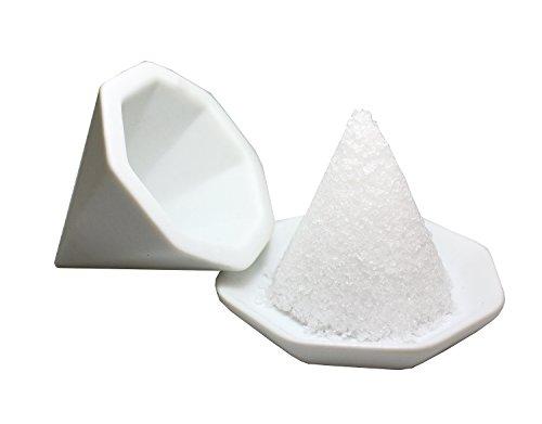 【盛塩セット】八角盛り塩セット 小/素焼き八角皿5枚付き -...
