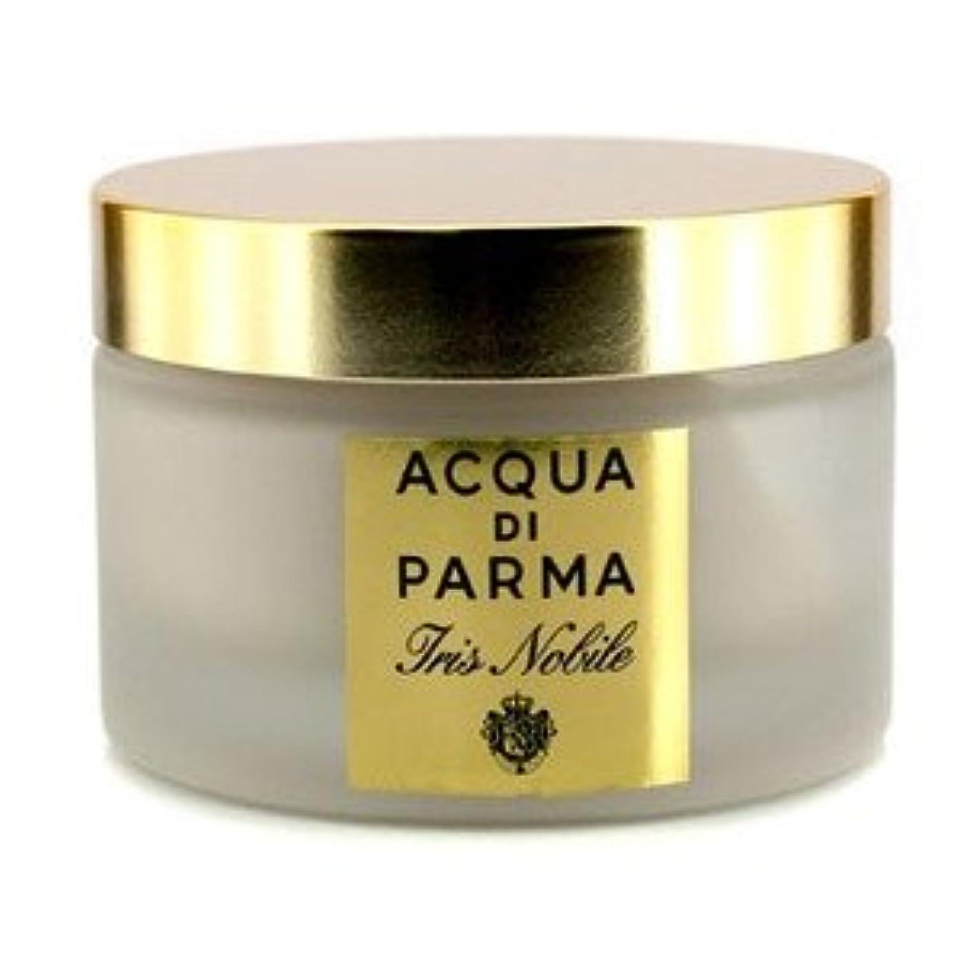 地味な美しいキャロラインアクア ディ パルマ[Acqua Di Parma] アイリス ノービル ルミナス ボディ クリーム 150g/5.25oz [並行輸入品]