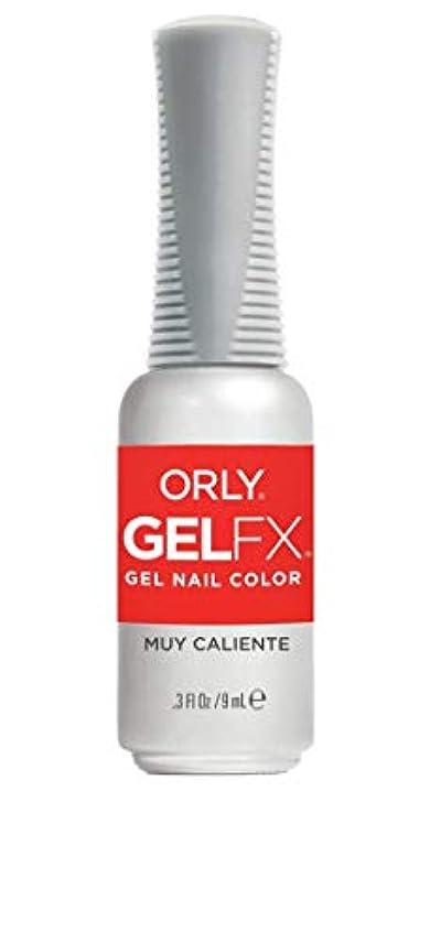 まつげ巨人法律ORLY Gel FX - Euphoria 2019 Collection - Muy Caliente - 0.3 oz / 9 mL