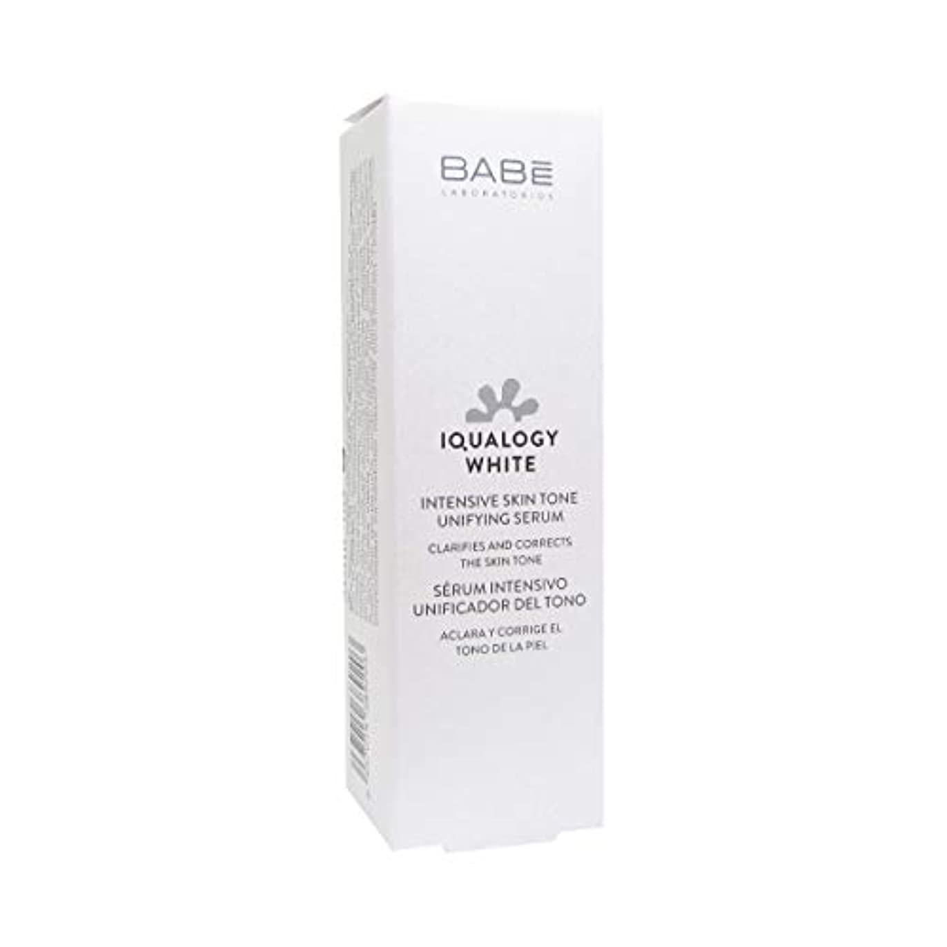 年齢宇宙飛行士炎上Bab Iqualogy White Unifying Serum 50ml [並行輸入品]