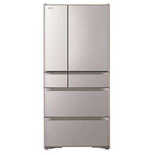日立 670L 6ドア冷蔵庫(クリスタルシャンパン)HITACHI R-XG6700H-XN