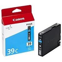 (まとめ) キャノン Canon インクタンク PGI-39C シアン 4861B001 1個 〔×3セット〕