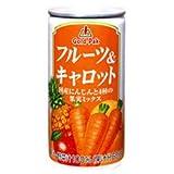 ゴールドパック フルーツ&キャロットジュース190g缶×30本入×(2ケース)