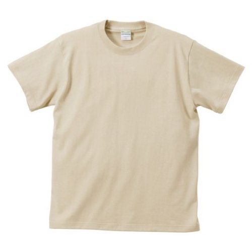 (ユナイテッドアスレ) UnitedAthle 5.6オンス ハイクオリティー Tシャツ 500101 053 ライトベージュ M